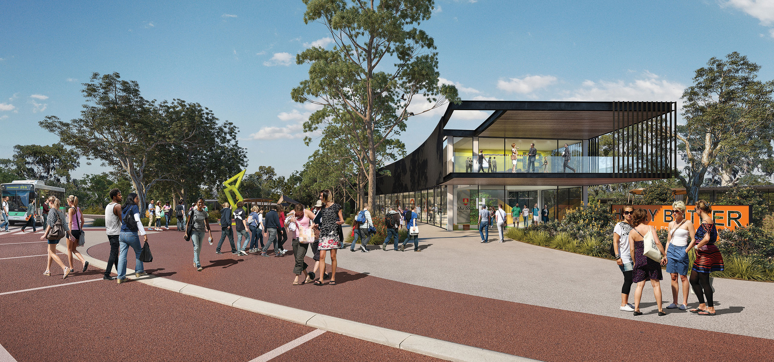Artist's Impression of the future Harry Butler Institute