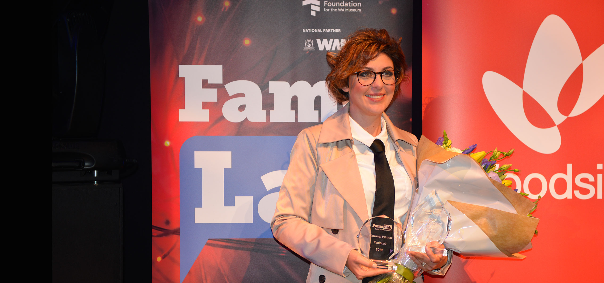Dr Paola Magni receives FameLab award