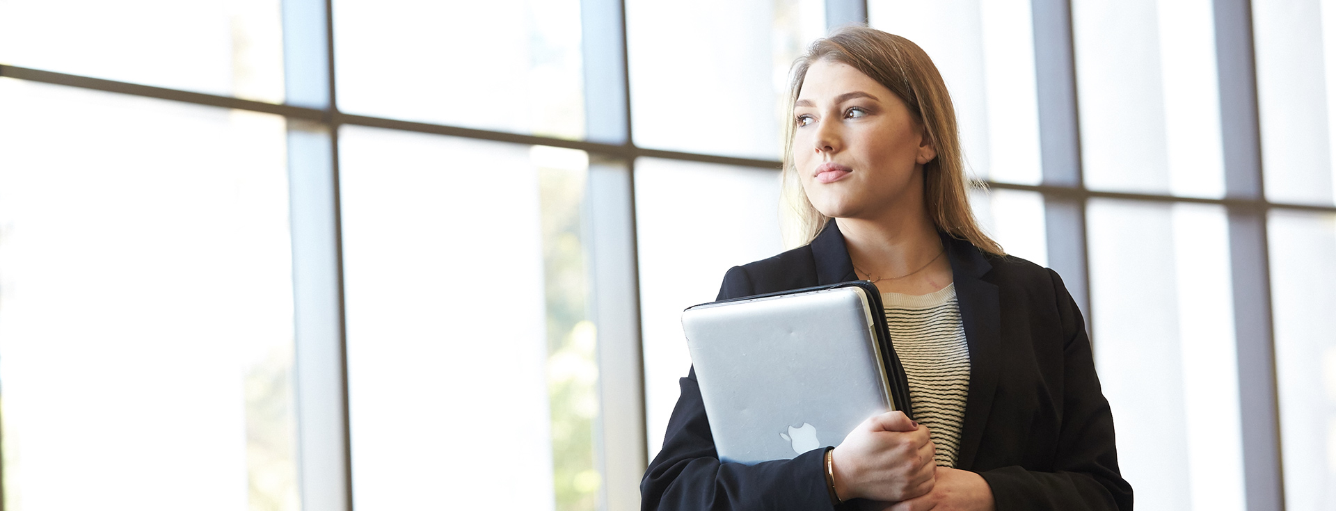 Image of woman with laptop