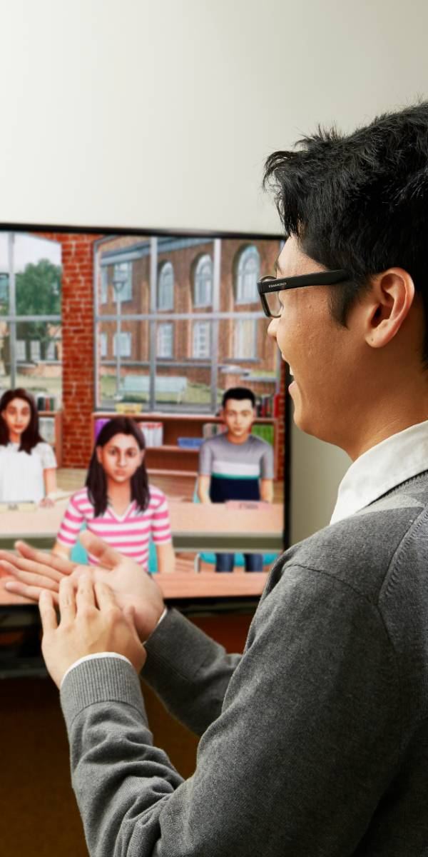 Virtual SimLab classroom