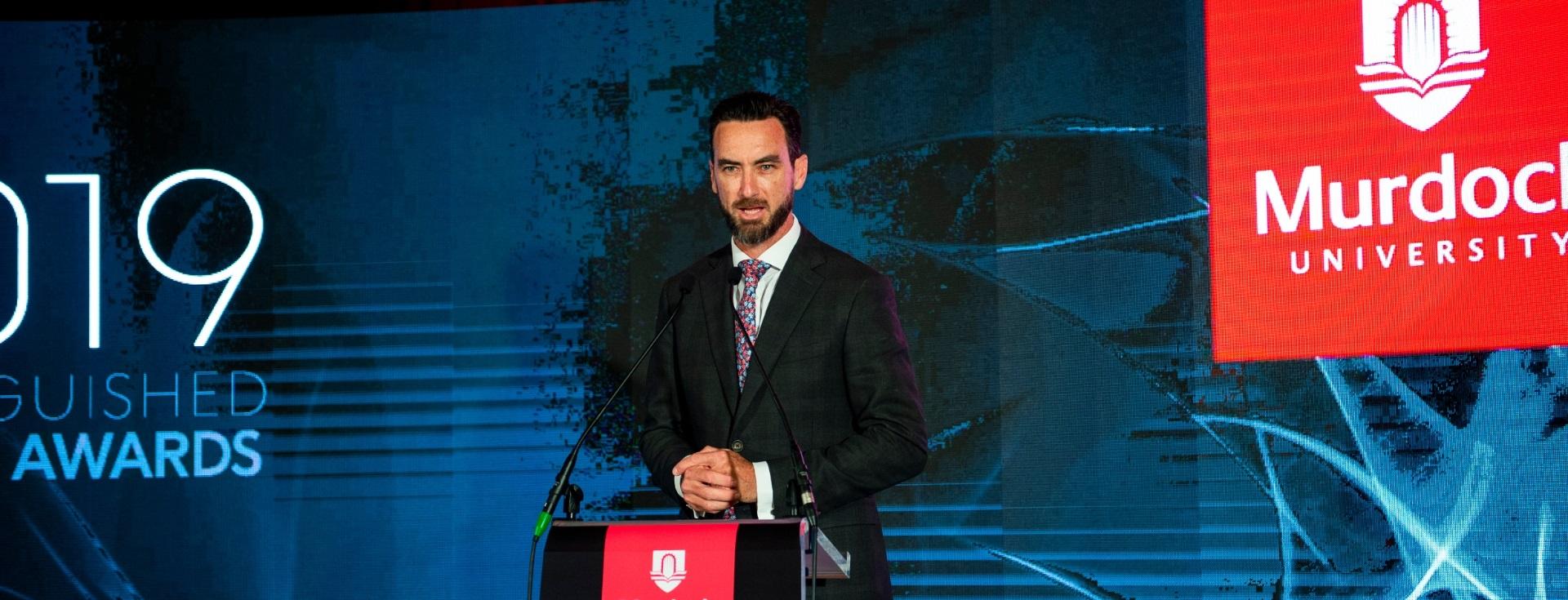 Alumni speaker