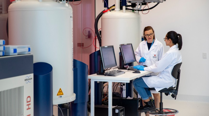 Scientists in the ANPC lab