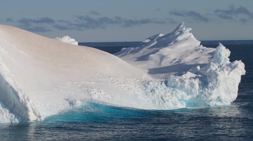 Antarctic iceberg. Photo credit Joshua Smith