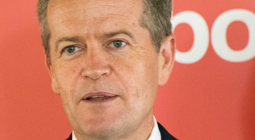 Australian Labor Party leader Bill Shorten