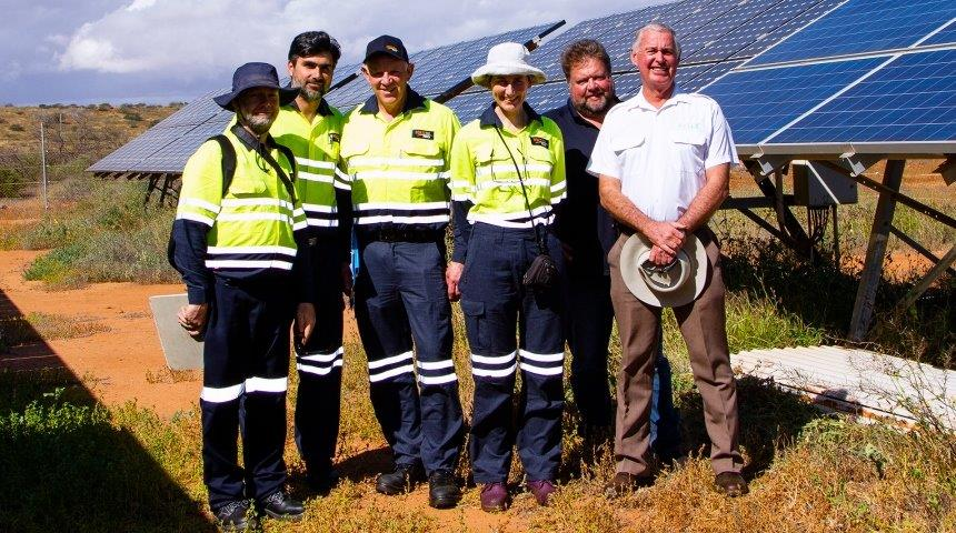 Carnarvon Distributed Energy Resources trials research team