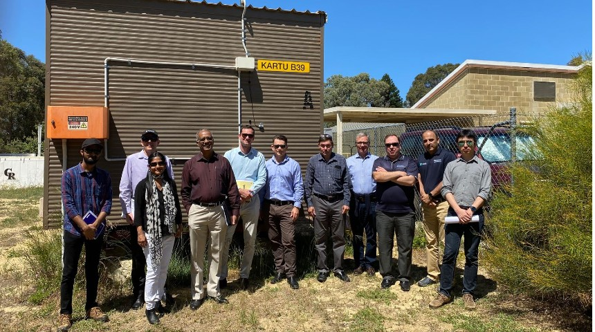 The team that have worked on the donga being developed for climate change
