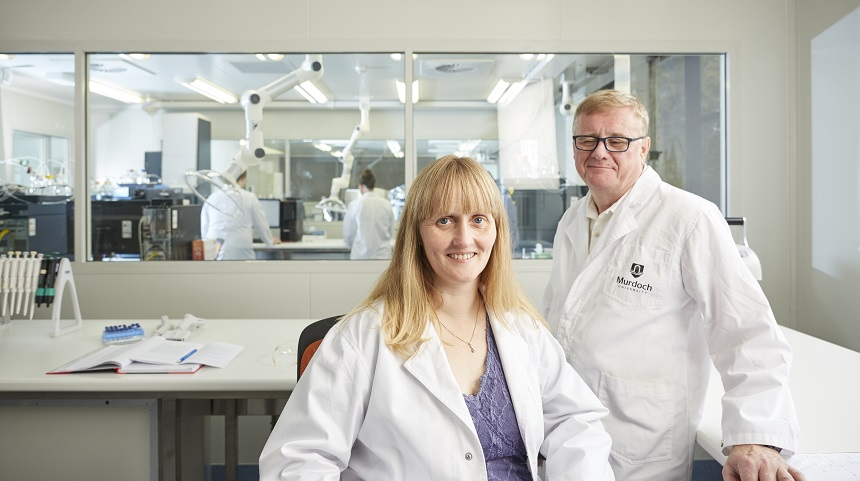 Prof. Elaine Holmes and Prof. Jeremy Nicholson at the Phenome Centre