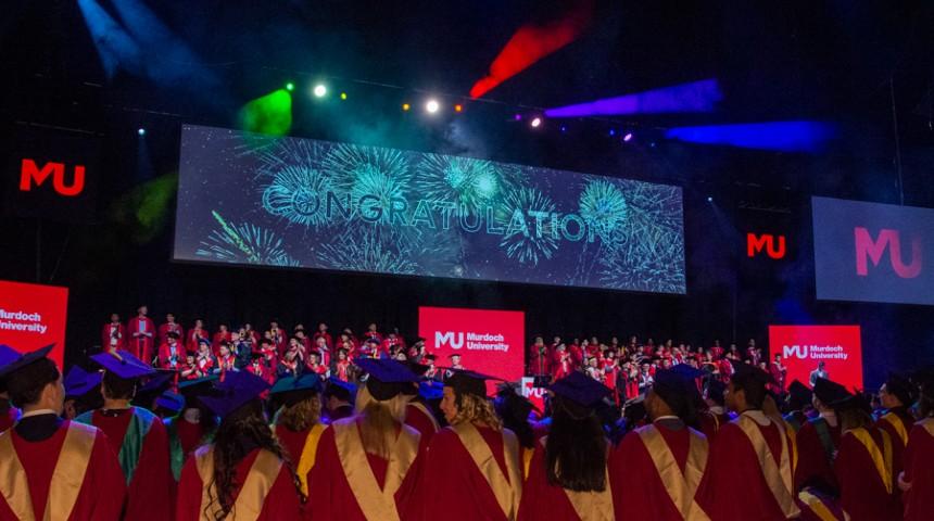 Graduates at RAC Arena