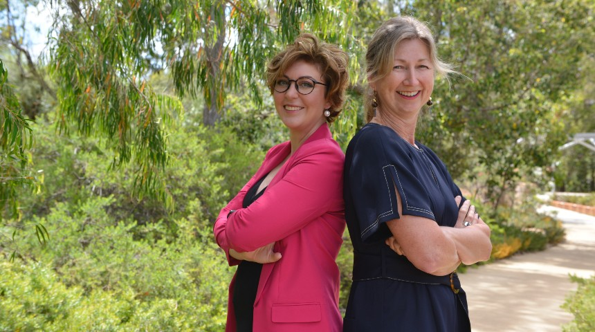 dr paola magni and professor cassie berry