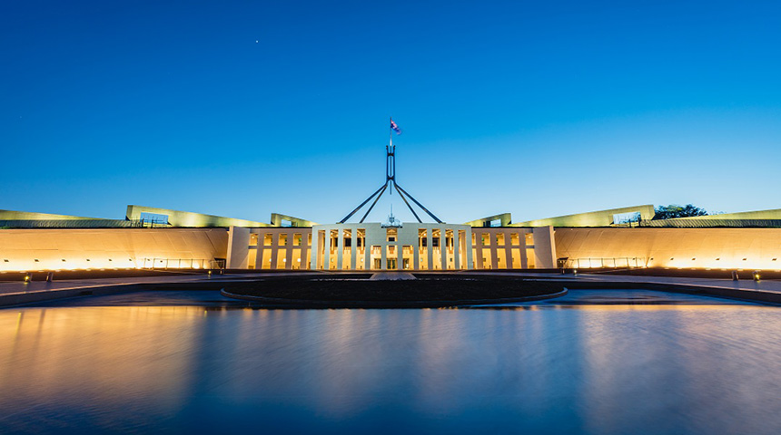Parliament house feature