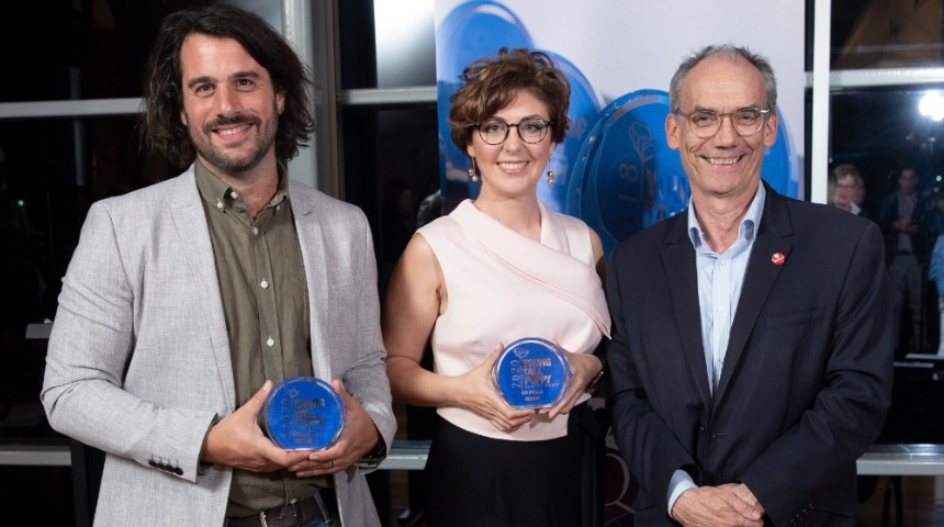 Murdoch researchers receive Tall Poppy Awards at ceremony